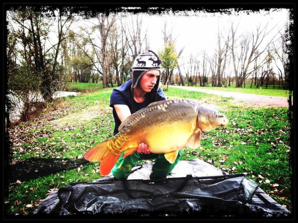 Dernière pêche de 2012...