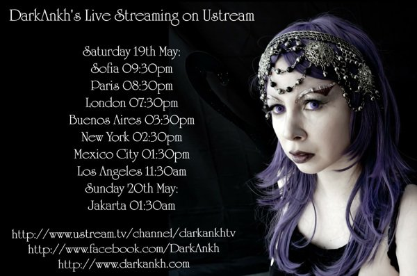 DarkAnkh Live Streaming Show 19th may