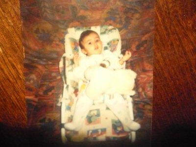 Moi quand j'était petit