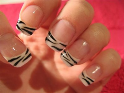 Manucure Zebre