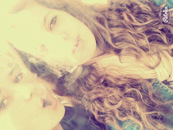 Ptite fumette au calme ak ma loveuse ♥♡♥♡