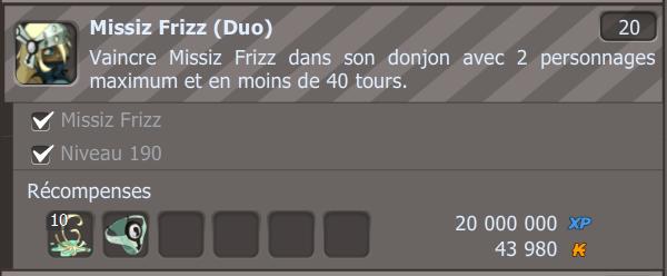 Duotage Missiz Frizz