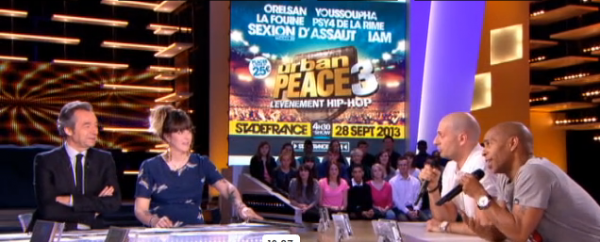 Le groupe IAM au grand journal sur canal+
