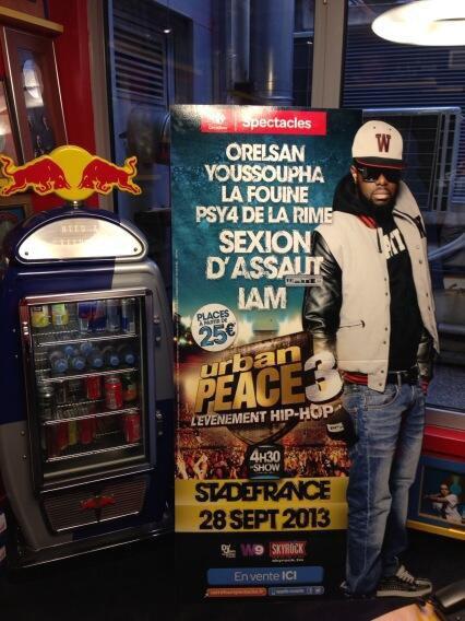 Maître Gims - Nouvelle tête d'affiche pour Urban Peace 3...