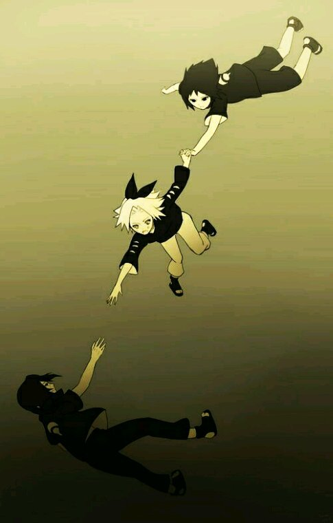 Chapitre 5: Sakura, reprends-toi ! Ou, l'amour d'Itachi pour la rose.