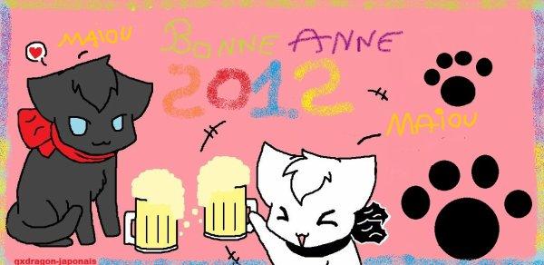 bonne année 2012!!!!!!
