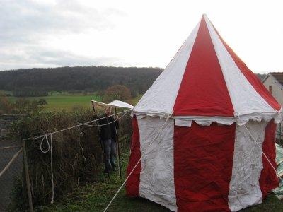 ma tente medievale, type avalon