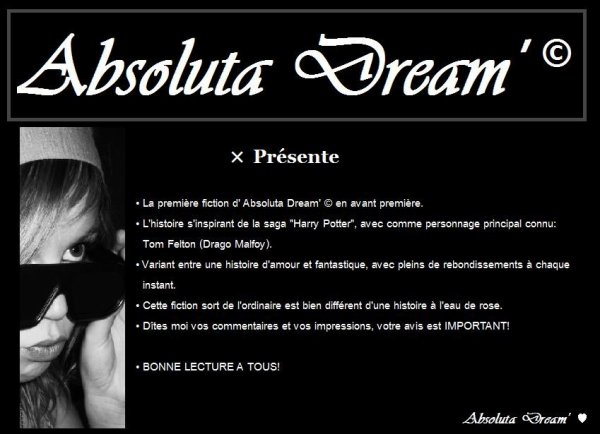 ABS0LUTA DREAM' ©