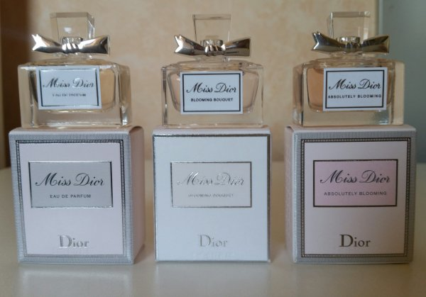 les 3 Miss Dior nouvelle version