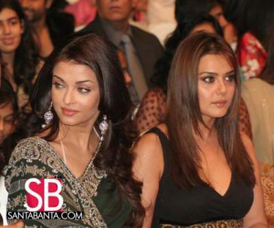 Aishwarya Ray & Preety Zinta