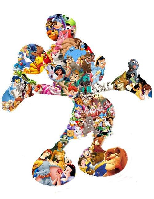 Blanche-neige et les sept nains,Pinocchio,Cendrillon,la belle et la bête,le roi lion...