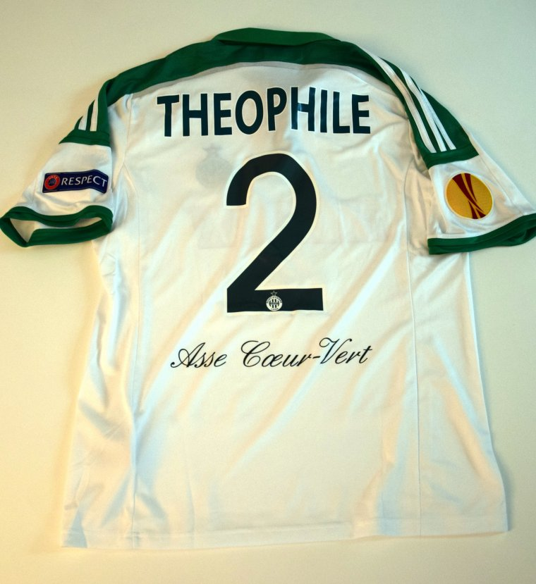 maillot theophile asse coupe d'europe