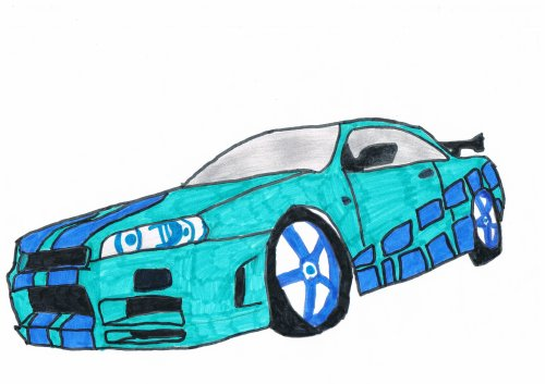 skyline r34 fast and furious 2