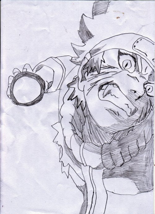 Naruto kiuby rasengan bryan le dessinateur de la 5a - Dessin de naruto akkipuden ...