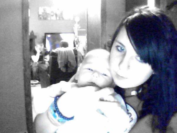 Mon baby a sa maman <3