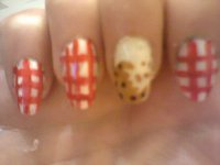 nail art cookie :)