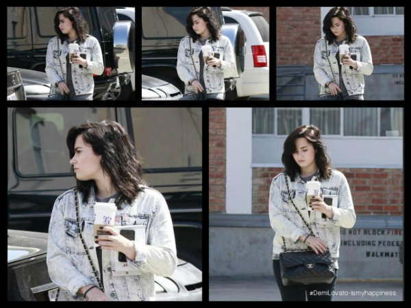 Demi à Gets coffee in Beverly Hills, CA le 15/03