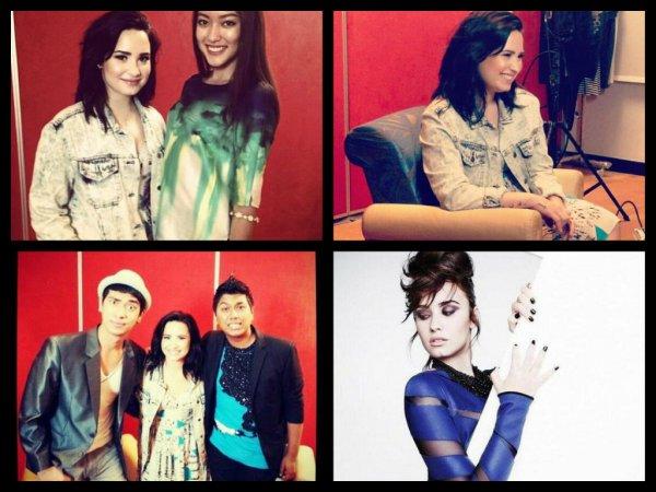 """Interview plus photos et vidéo conférence de Demi à Singapour  et nouvelle photo du shoot """"Heat attack"""""""