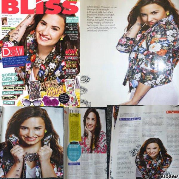 "Demi Lovato : ""Bliss"""