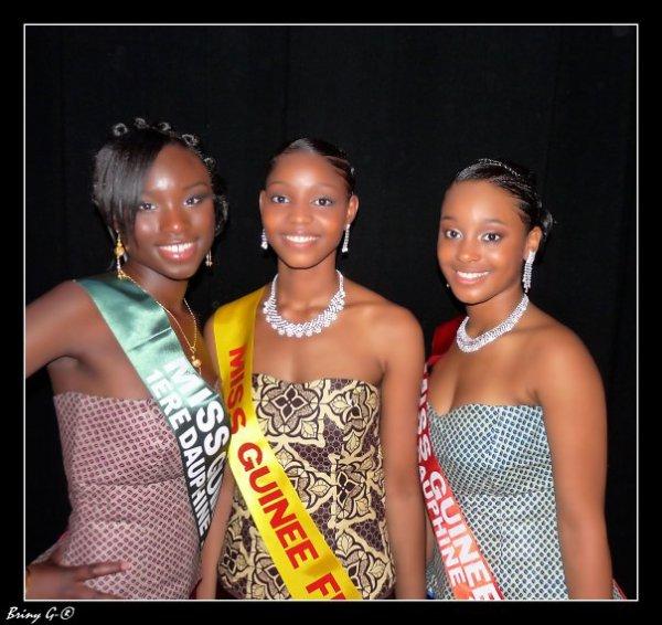Minana Kondé Koumara , 1ère dauphine Miss beauté noire 209 et Miss Guinée France 2009