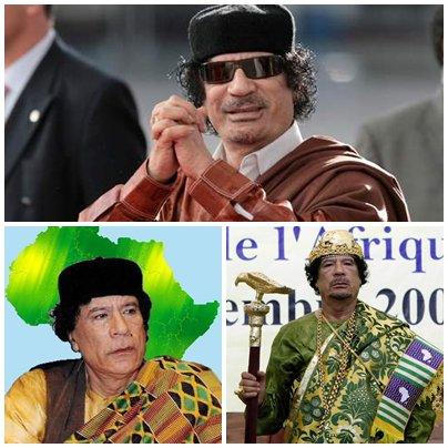 L'une des nombreuses PERTES de l'Afrique ''Kadhafi''