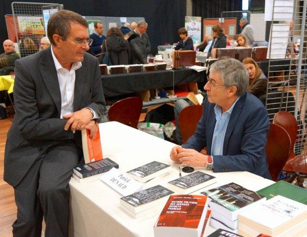 Patrick Denaud avec Dominique Fontvielle au salon du livre