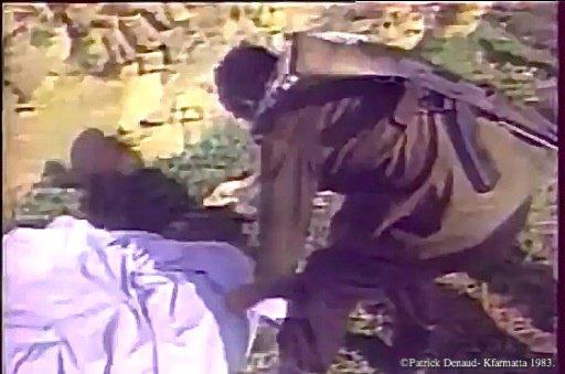 Patrick Denaud avec Antoine de Maximy. Kfarmatta 1983
