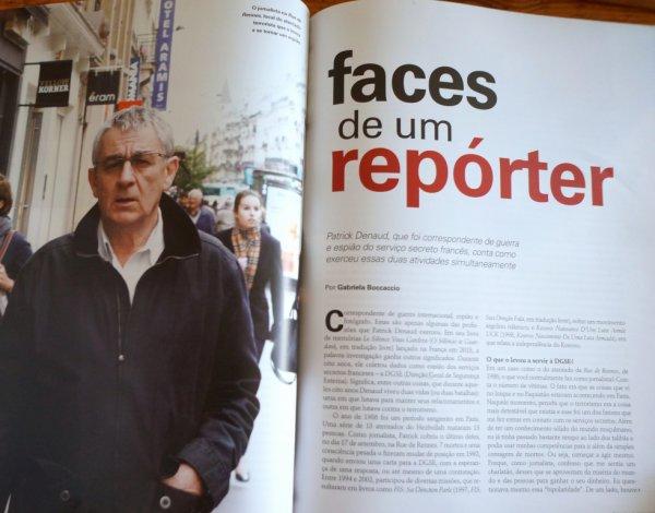 Patrick Denaud vu par la presse brésilienne.