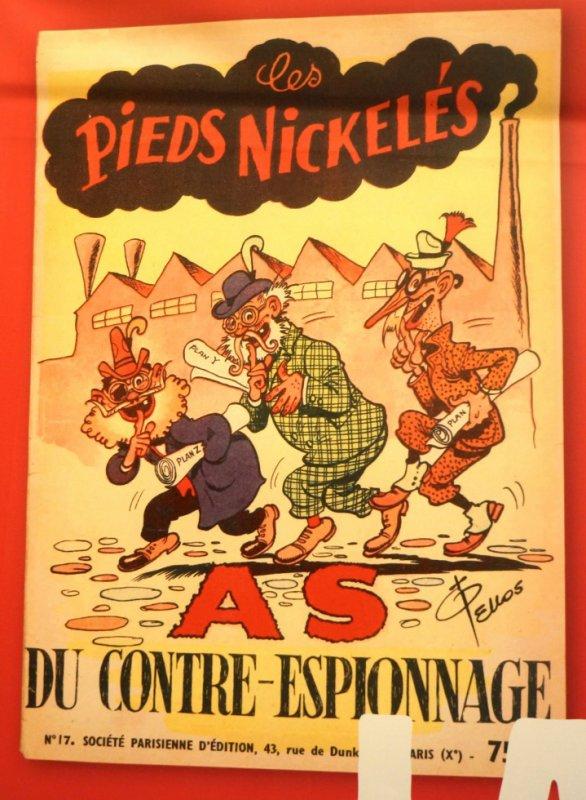 """Exposition: """"Les espions se livrent..."""""""