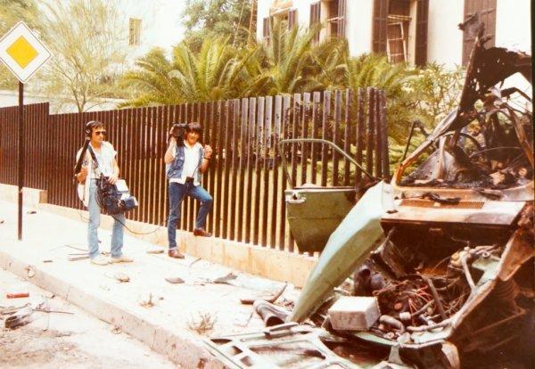 Patrick Denaud avec Pierre Quentin, Beyrouth attentat voiture piégée...