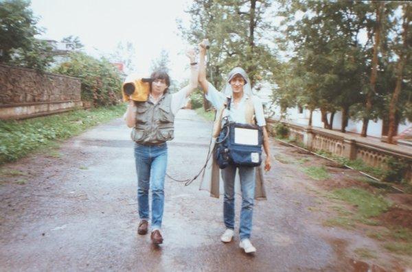 Patrick Denaud avec Gilles Trenel en Inde...