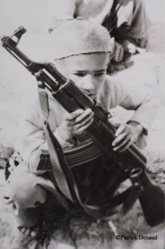 Patrick Denaud. Enfants et guerre...