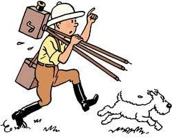Tintin Grand Reporter était aussi caméraman...