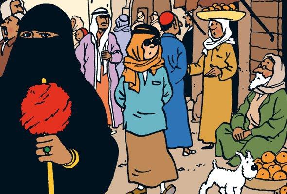 Tintin Grand Reporter était peut être aussi agent secret...