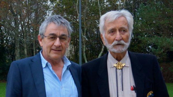 Bob Maloubier avec Patrick Denaud