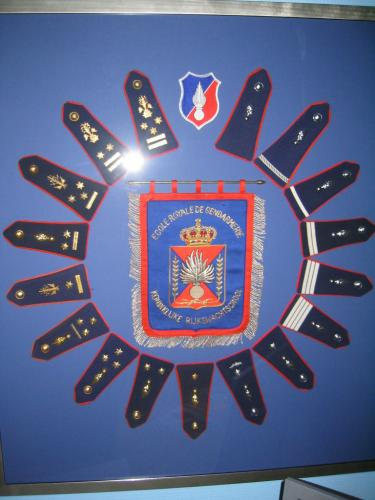 Présentation de ma collection sur la Gendarmerie Belge.