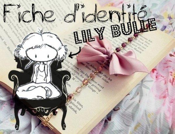 Présentation de Lily Bulle ta nouvelle mascotte !