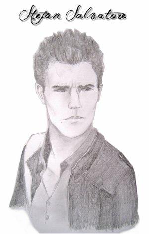 Portrait d 39 acteurs sp cial vampire diaries d couvre tous mes conseils de dessin en ligne - Coloriage vampire diaries ...