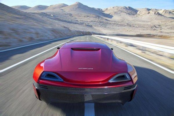 voiture electrique rapide