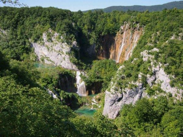 Les eaux et forêts (de Plitvice)