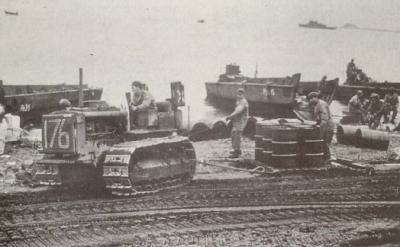 Les beach tractors