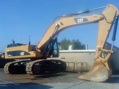 Cat 345D LME