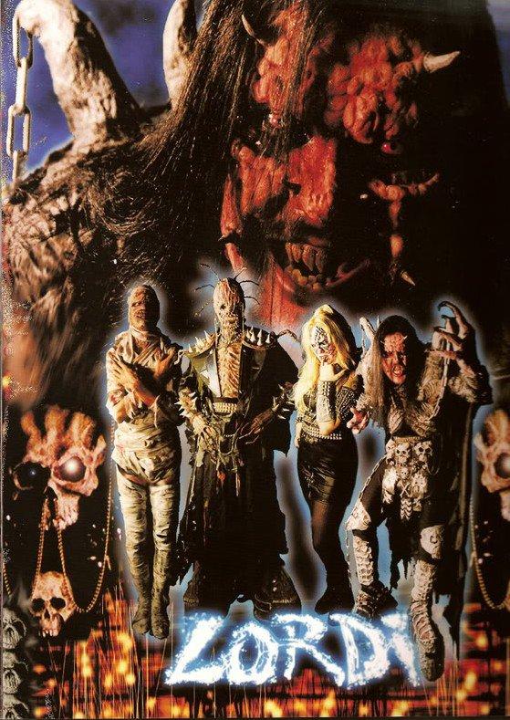 Le groupe en 1996