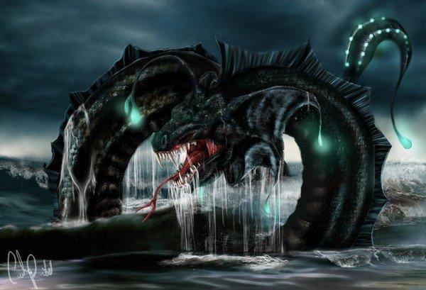 serpent des mers