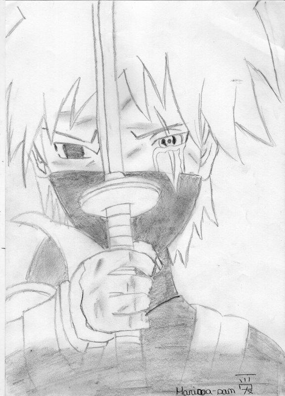 Kakashi Hatake Ici My Dessins De Manga Et My Fiction