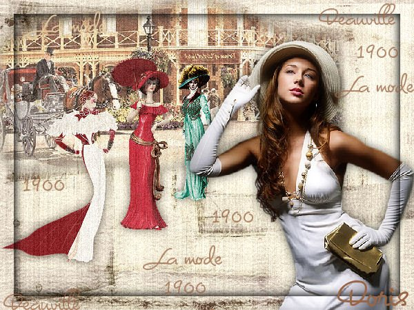 Deauville la Mode 1900