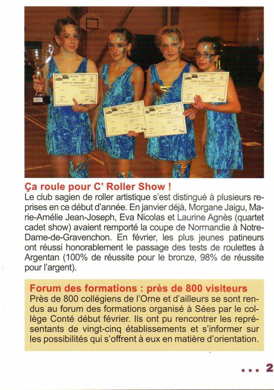 article du trait d'union 1er mars 2012