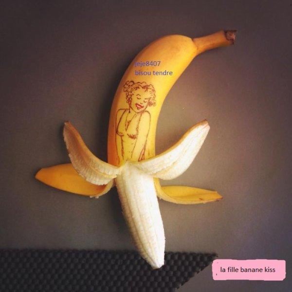 une banane par jour et sa roule