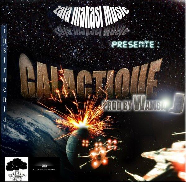 GALACTIQUE (instrumental) (prod by Wamba J.)  EN LIGNE LE 10 AVRIL 2013!!!