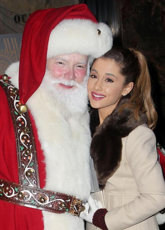 Ariana et le père  noël